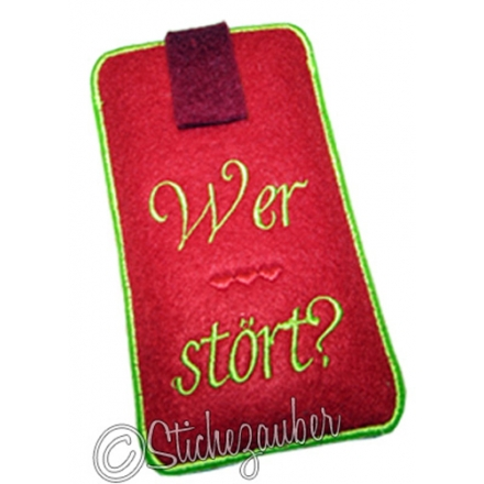 "LiftUp ITH-Handybag ""Wer stört"" ITH Gr.M"