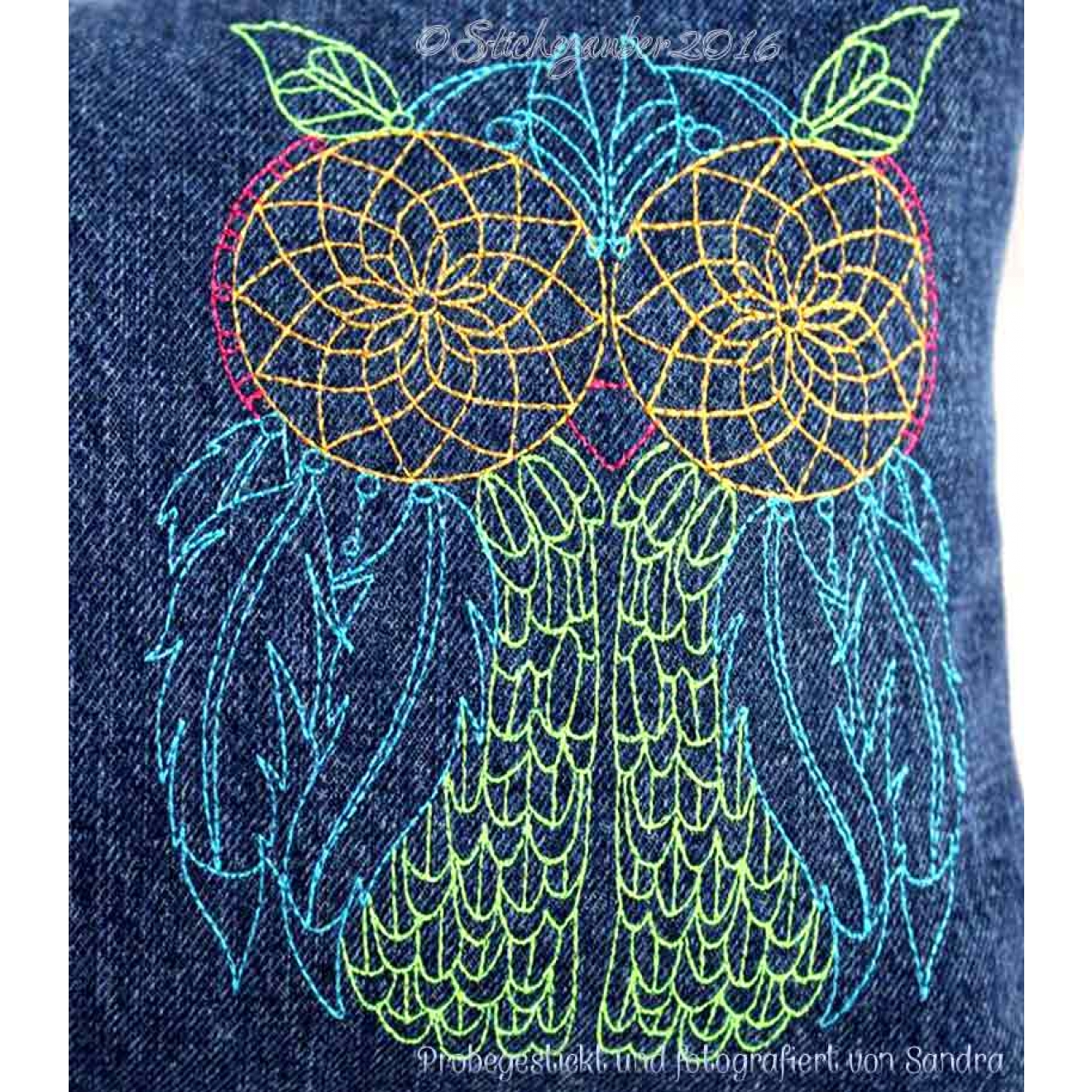 Dreamcatcher Owls 13x18cm