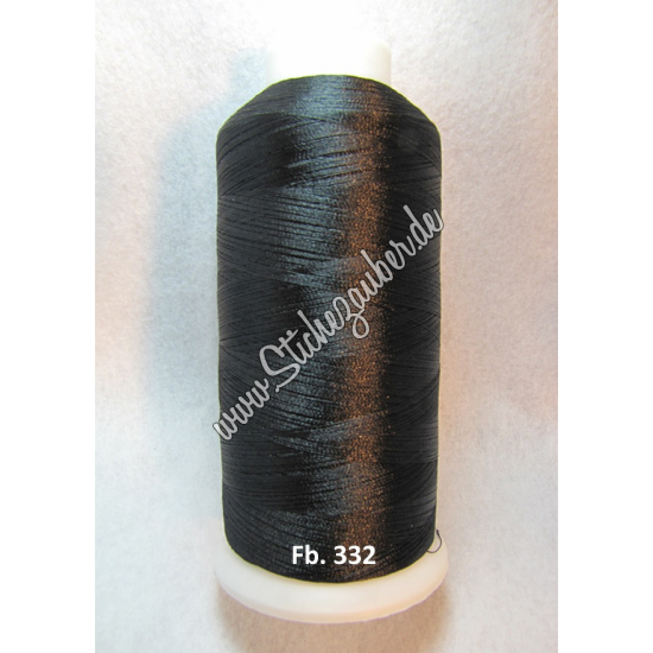 Stickgarn Mozart 4.500 m Fb. 332, Black